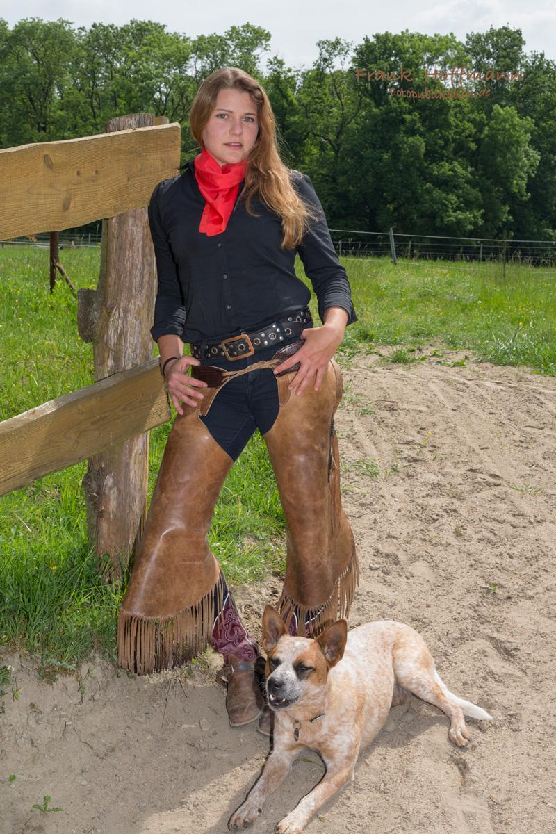 Pferdefachwirtin Silvia Woelk.