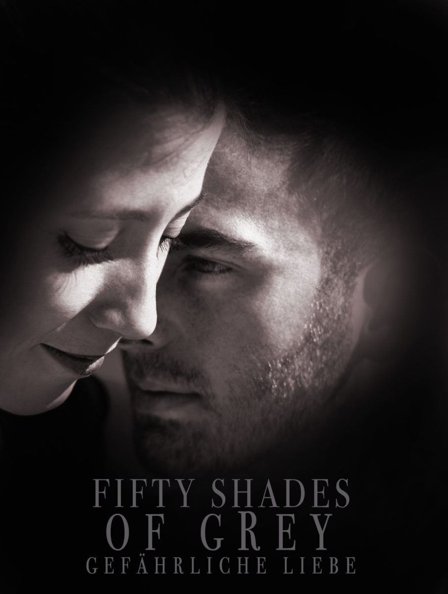 Cinema Poster Cover des Films Fifty Shades of Grey.