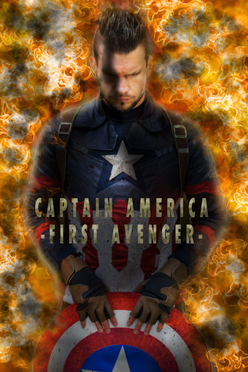 Captain America hier im Remake mit Sebastian Pahl.
