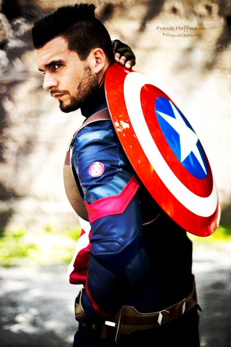 Captain America hier im zweiten Remake mit Sebastian Pahl.
