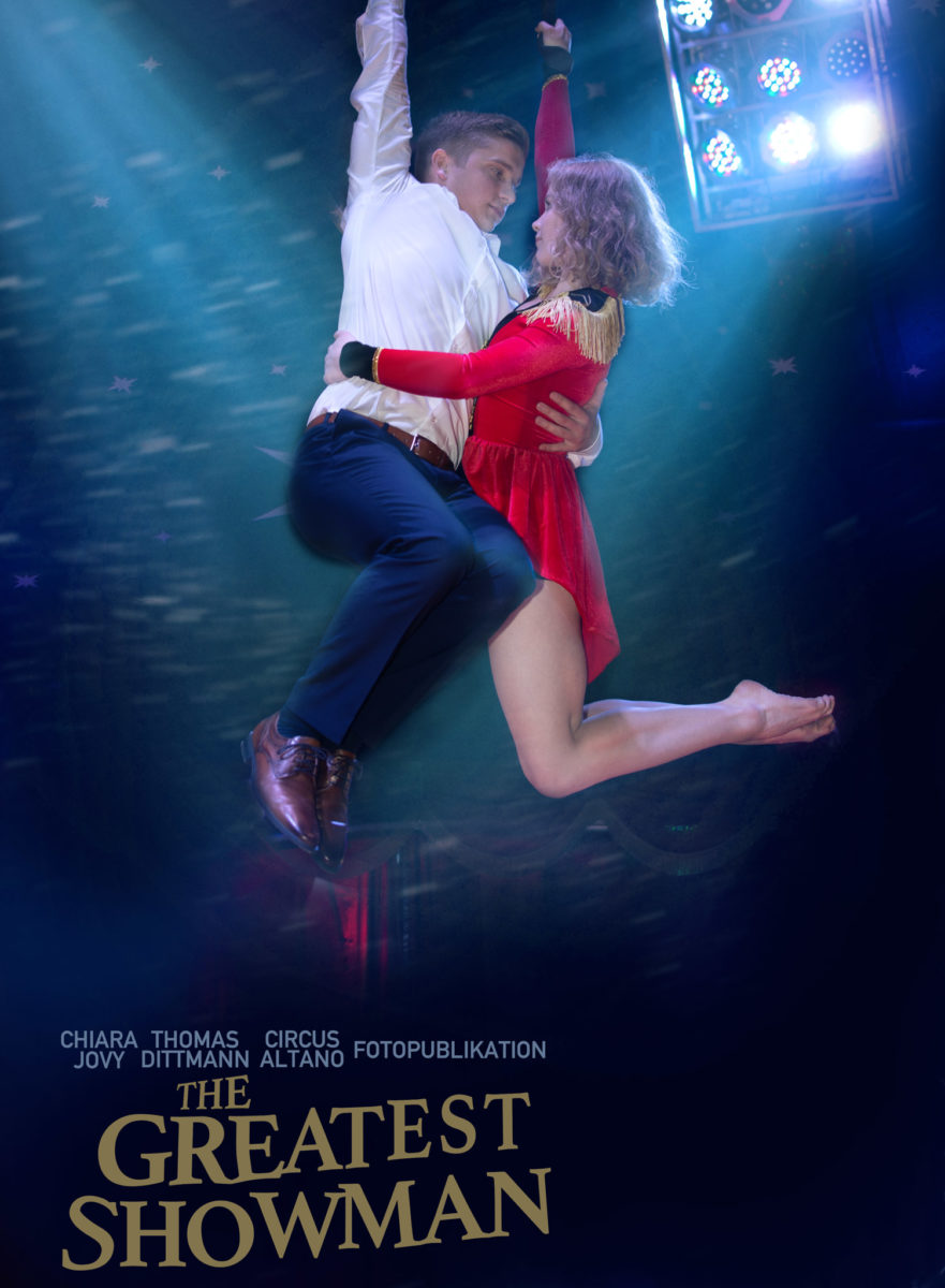 The Greatest Showman Filmplakat Cover.