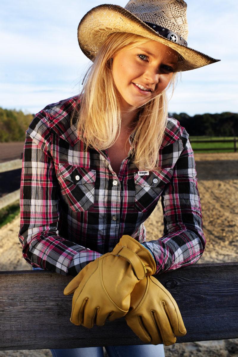 Cowgirl Lisa bei einem kurzen SpontanShooting.