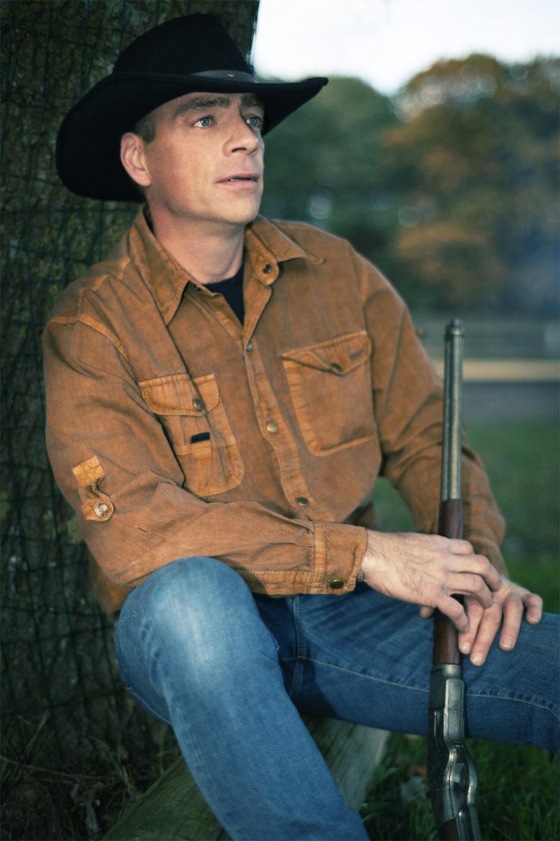 Paul der Cowboy. Es war ein tolles Shooting.