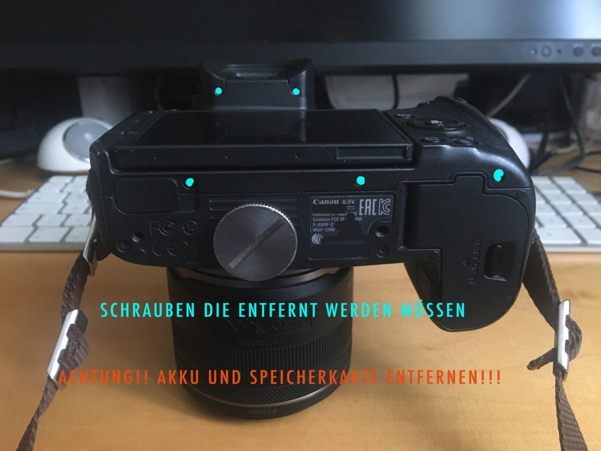 canonr-blitzschuh-flashsocket-selfrepair-photos-screwpoints-schraubenpunkte